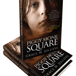 stack of paperback books - Piggy Monk Square by Grace Jolliffe