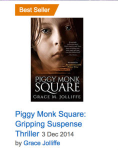 Piggy Monk Square by Grace Jolliffe - book cover illustrating article about how to write a best seller