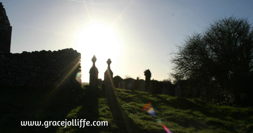 dark graveyard illustrating an article about the Tuam Babies Scandal