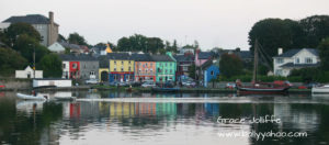 pretty village of Kinvara in Ireland illustrating an article called Acceptable Racist Abuse in Ireland