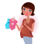 cartoon of pregnant mum rom When Things Go Wonky by Grace Jolliffe - stories for kids