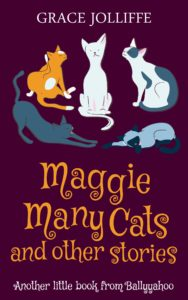 cover of Maggie Many Cats and Other Stories from Ballyyahoo - illustrating a page on funny stories for kids
