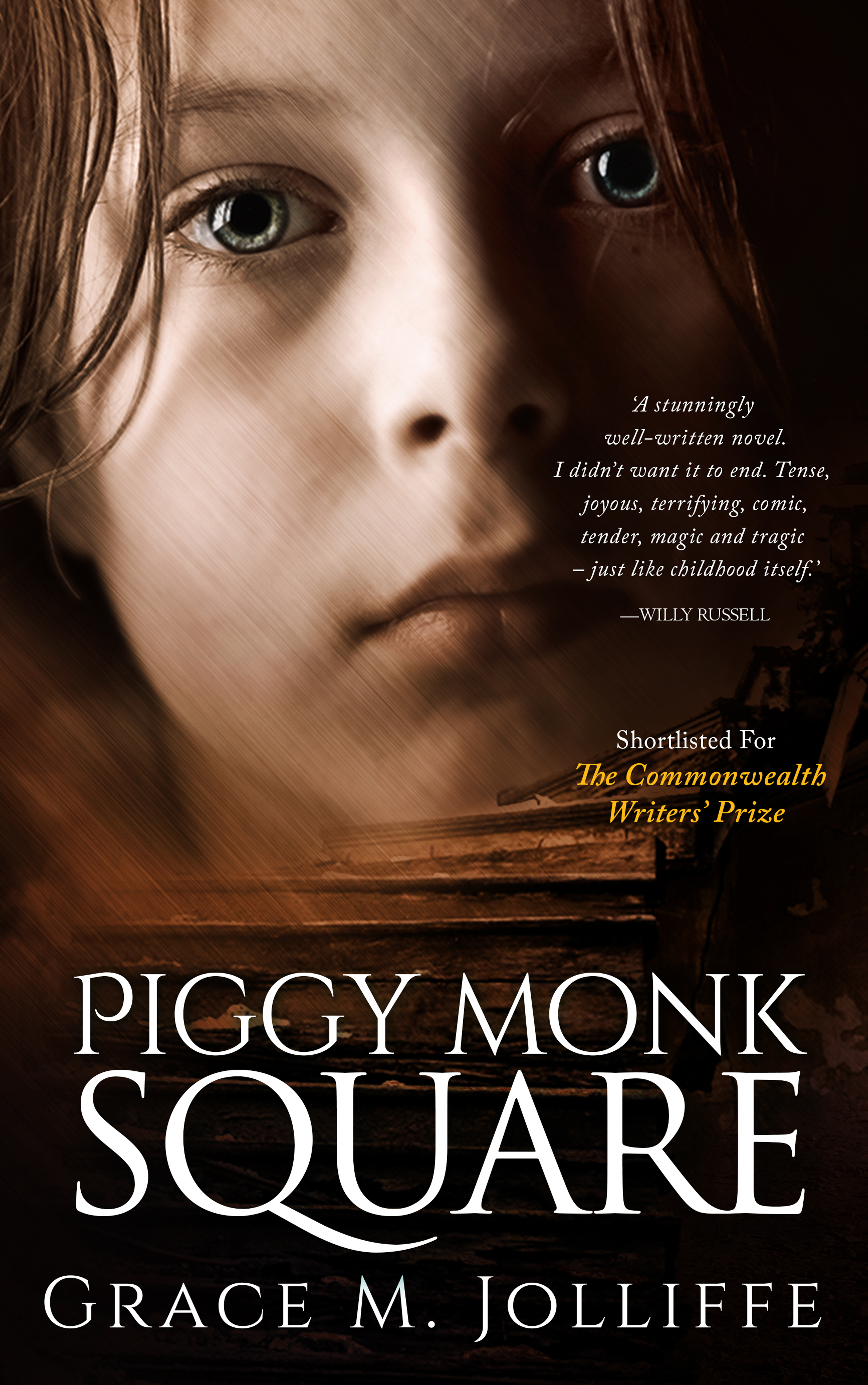 Book cover for Piggy Monk Square - Liverpool 1970s series